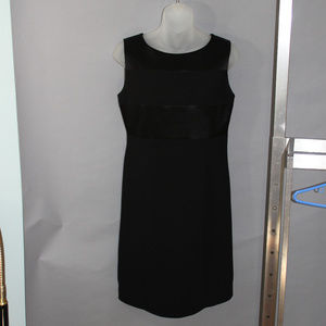 Classic little black dress, size 4, zippered back